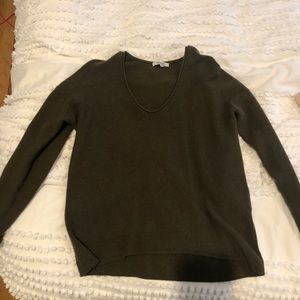 Madewell Sweater -Forest Green- Size Small.